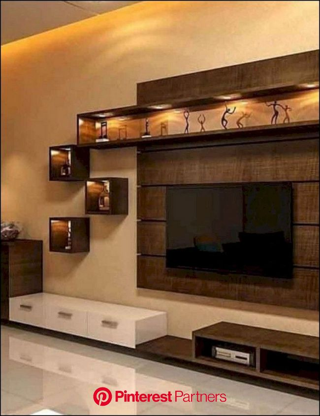 10 Best Diy Entertainment Center Ideas That Look More Comfort Modern Tv Wall Units Tv Unit Furniture Living Room Tv Unit Designs Wood Decor 2019 2020