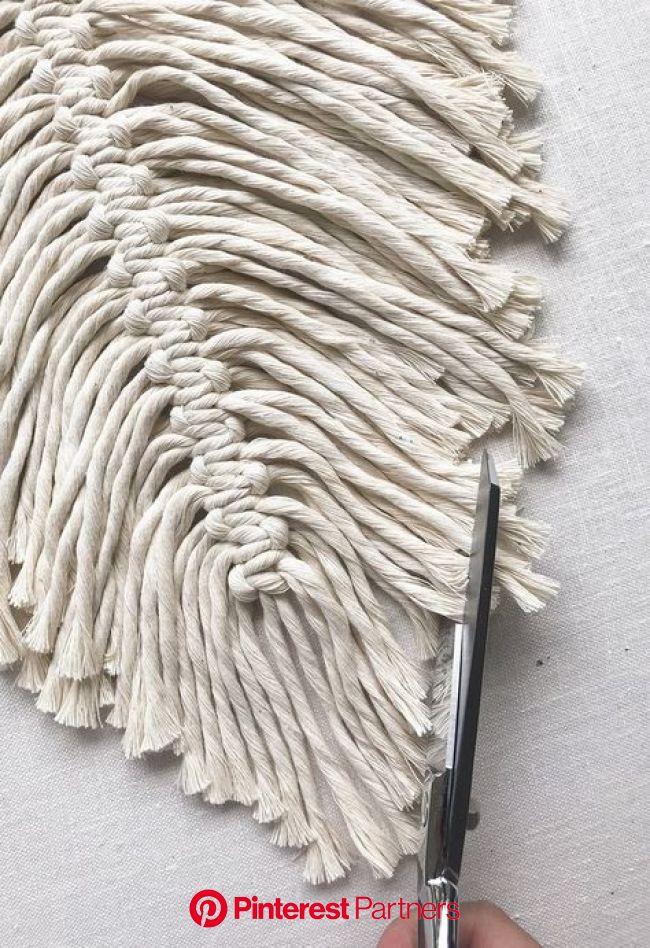DIY Macrame Feathers - Honestly WTF | Macrame diy, Macrame feathers, Macrame feather
