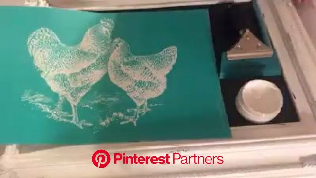 Chicken Transfer [Video] | Chalk crafts, Chalk creations, Magnolia design