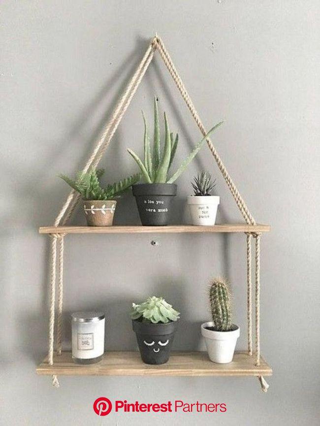 New Hanging Shelves Design | Diy hanging shelves design, Diy hanging shelves, Hanging shelves