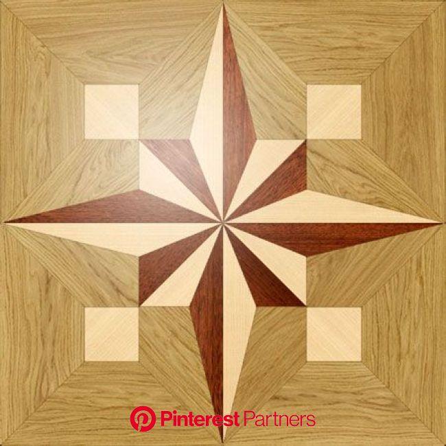 Larger image for PMX13 In Wood Medallions - part of Czar Floors collection of unique decorative flo…   Arte de parede de madeira, Marchetaria, Artesan