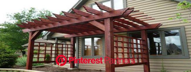 a dark red japanese pergola in 2021 | Pergola, Japanese pergola, Pergola ideas for patio