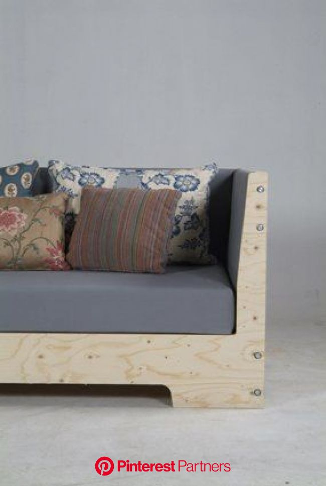 Plywood Sofa by Piet Hein Eek | Furniture, Diy sofa, Wooden couch