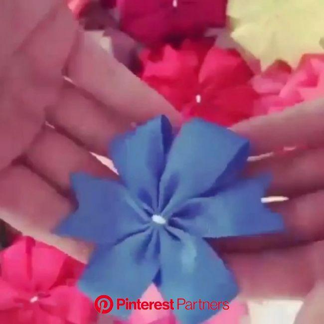 ARTE COM QUIANE -  Paps e Moldes de Artesanato [Vídeo] [Vídeo] em 2020 | Laços de cabelo, Laços para cabelo de boutique, Flores artesanato
