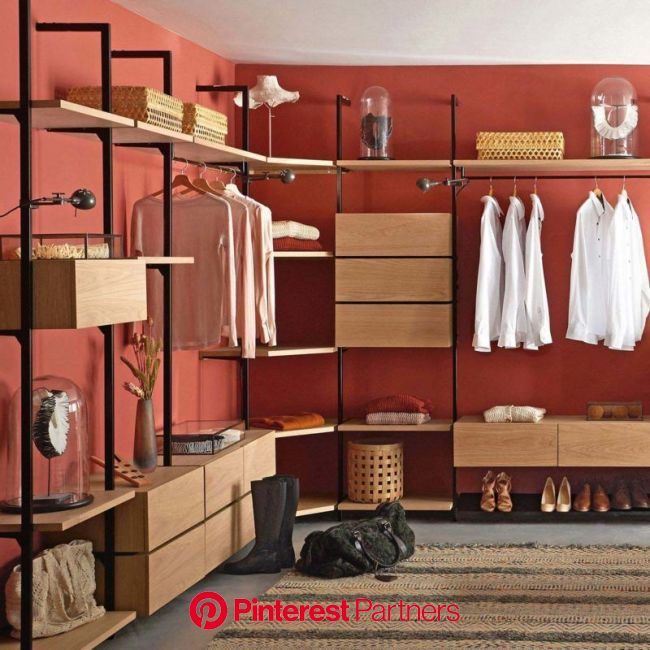 Dressing : 30 inspirations pour vos vêtements | Ikea hack storage, Closet designs, Drawers