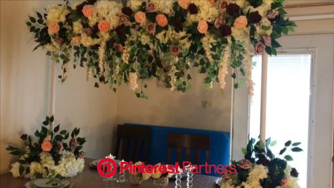 DIY-Enchanted Garden High Centerpiece [Video] | Wedding centerpieces diy, Diy wedding backdrop, Diy centerpieces