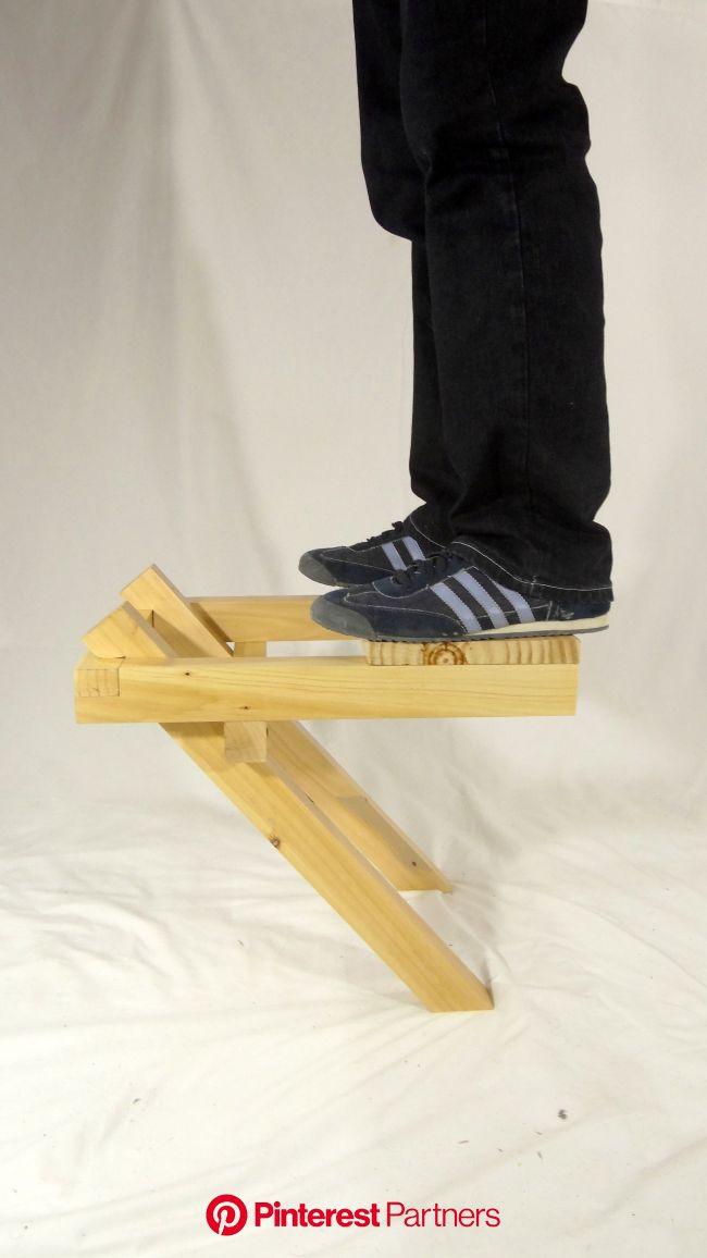 Galería de Silla En Equilibrio / Ulises Ruiz - 9   Bancos plegables de madera, Sillas, Sillas plegables de madera