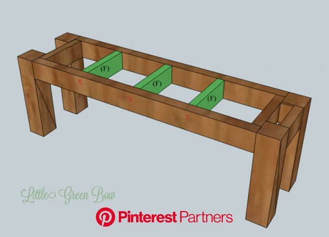 Step-by-Step DIY Dining Bench Plans | Diy dining table, Farmhouse bench diy, Diy dining