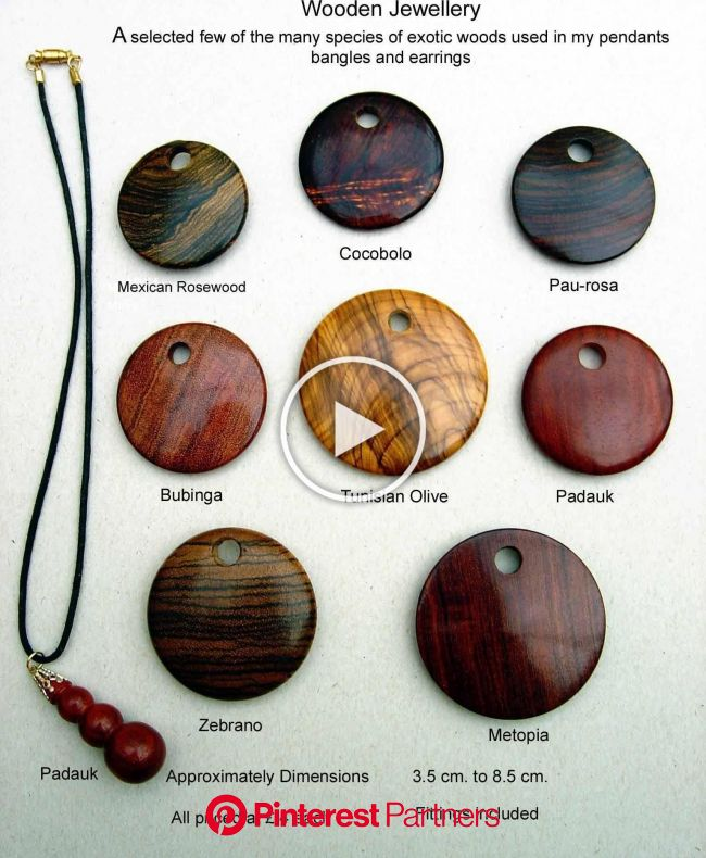 Wooden Jewellery. $8.00, via Etsy. | Wooden jewelery, Wood jewelery, Wooden jewelry