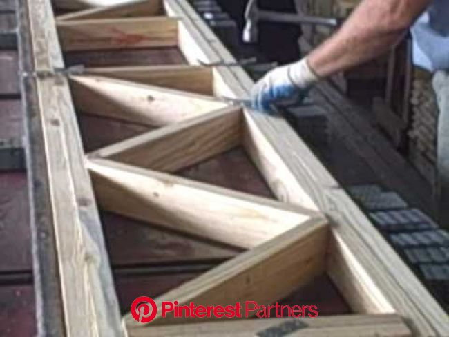 Assembling Floor Truss | Roof truss design, Wood truss, Roof trusses