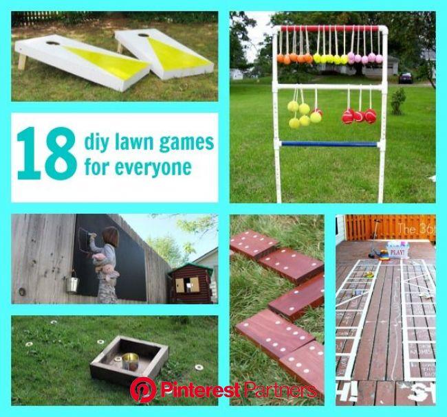 21 DIY Lawn Games - C.R.A.F.T. | Backyard fun, Lawn games, Fun