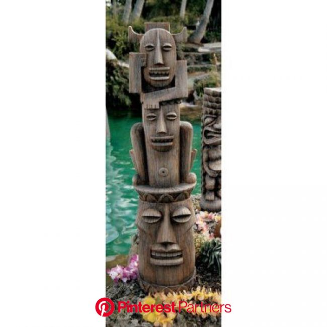 Design Toscano Gods of the Three Pleasures Tiki Gods Statue - Walmart.com | Tiki statues, Tiki room, Tiki totem