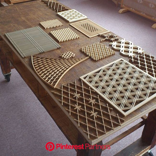 Kumiko Ramma Screen | Japanese woodworking, Wood screens, Japanese home design