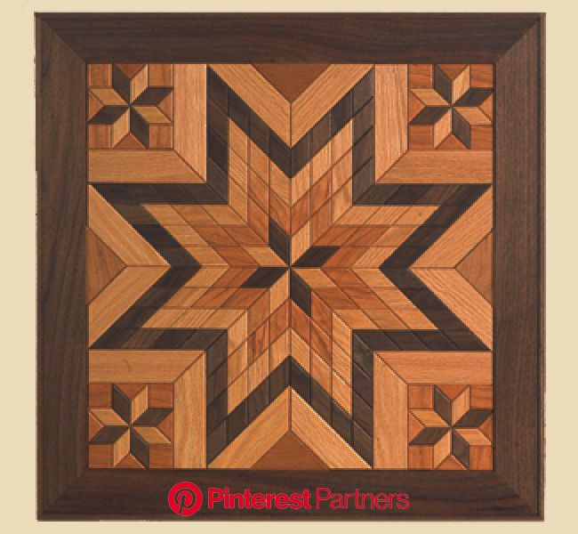 Scroll Saw Projects | All Scroll Saw Projects - Hardwood Quilt Pattern Set | Painted barn quilts, Wood carving patterns, Scroll saw patterns