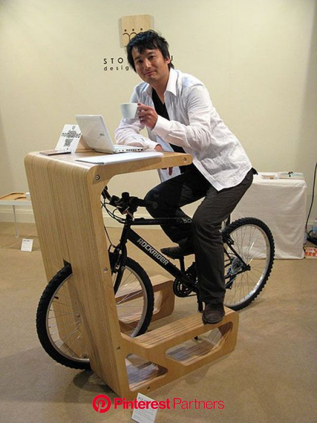 Para ejercitarse y trabajar!!!                                                                                     … | Bike storage solutions, Bike st