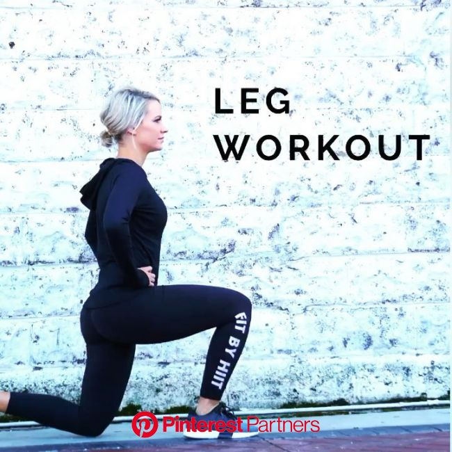 Leg Workout. Bodyweight Workout. [Video] in 2020 | Body weight leg workout, 30 minute workout, Leg workout