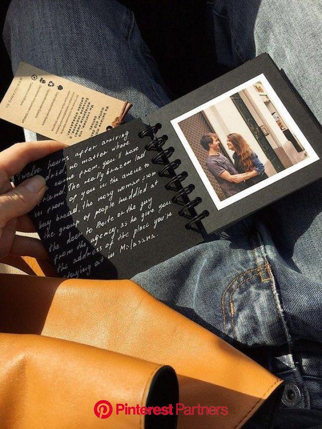 Mini Photo album Polaroid for Friends, travel Photo album, gift custom photo album for her, album for best friend gift | Photo album scrapbooking, Bir