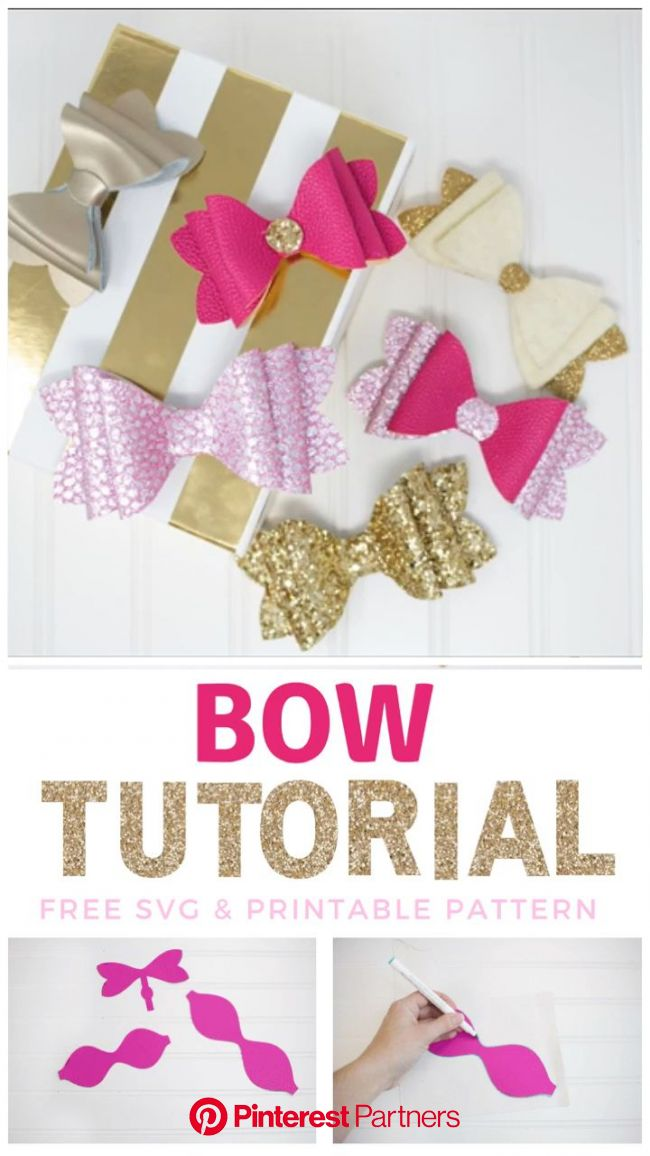 Stacked French Hair Bow Tutorial [Video] | Diy hair bows, Making hair bows, Bow tutorial