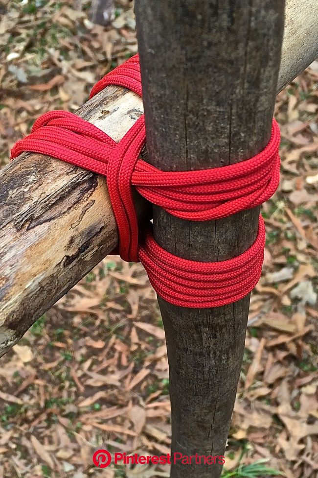 Camp Craft: How to Tie Square Lashing | Camping crafts, Bushcraft camping, Camping survival