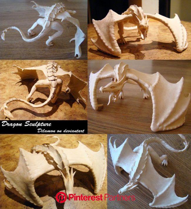 Dragon Sculpture by Dilamon on deviantART | Dragon sculpture, Clay dragon, Sculpture clay
