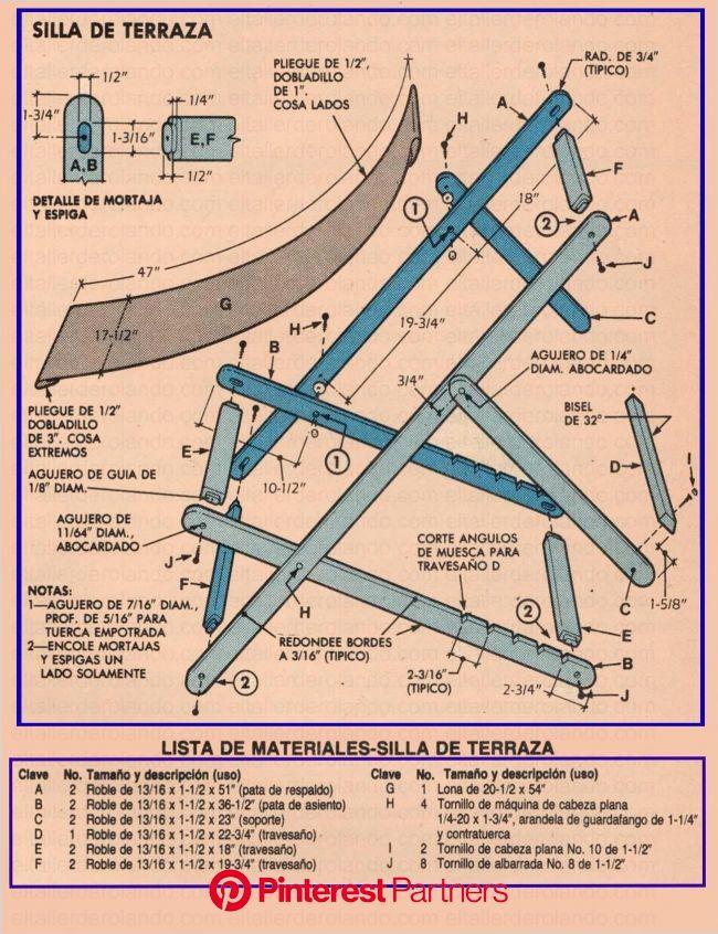EL TALLER DE ROLANDO-EL HÁGALO USTED MISMO EN SU MÁXIMA EXPRESIÓN-ENCUENTRA TODO LO QUE BUSCAS PARA HACE… | Reposeras de madera, Muebles de campaña, S