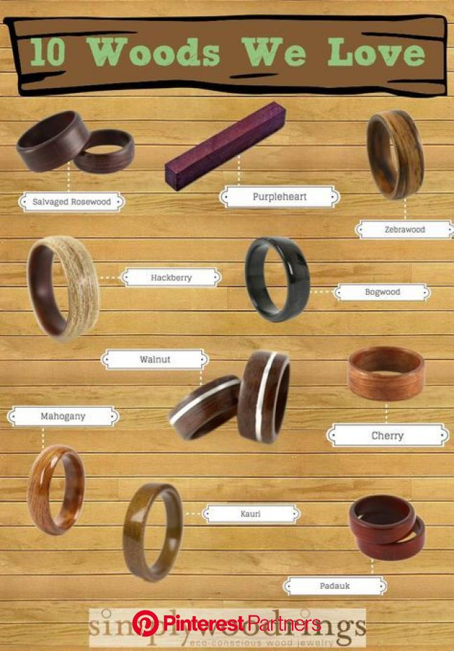 10woodswelove.jpg 800×1,149 pixels | Wood rings, Wooden rings, Cool wood projects