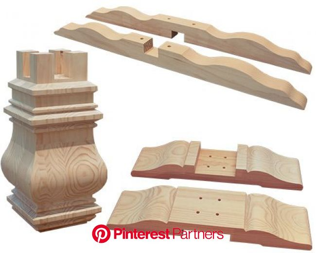Large Pedestal Kit   Woodworking ideas table, Country dining room furniture, Dining table legs