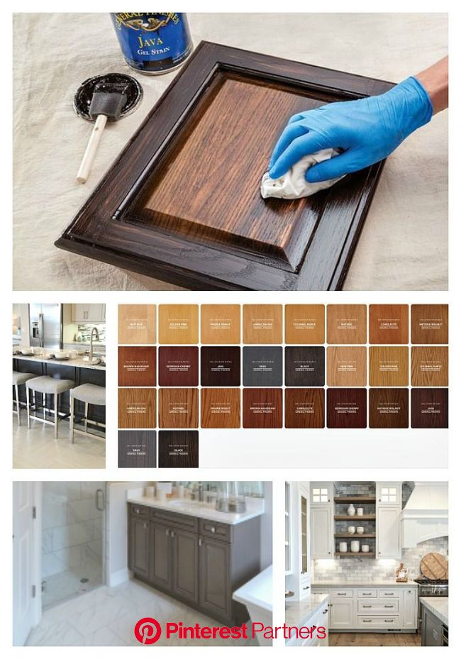 Our Best Tips For Staining Cabinets Or Re Staining Staining Cabinets Antique Kitchen Cabinets Stained Kitchen Cabinets Wood Decor 2019 2020