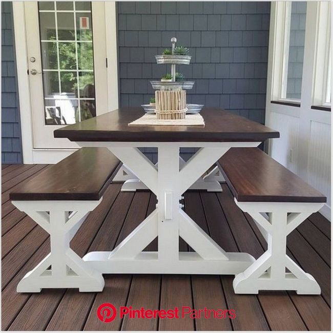 50 The Modern Farmhouse Table For Your Home Decor Farmhousedecor Farmhousekitchen 21 In 2020 Farmhouse Kitchen Tables Farmhouse Table Plans Fa Wood Decor 2019 2020