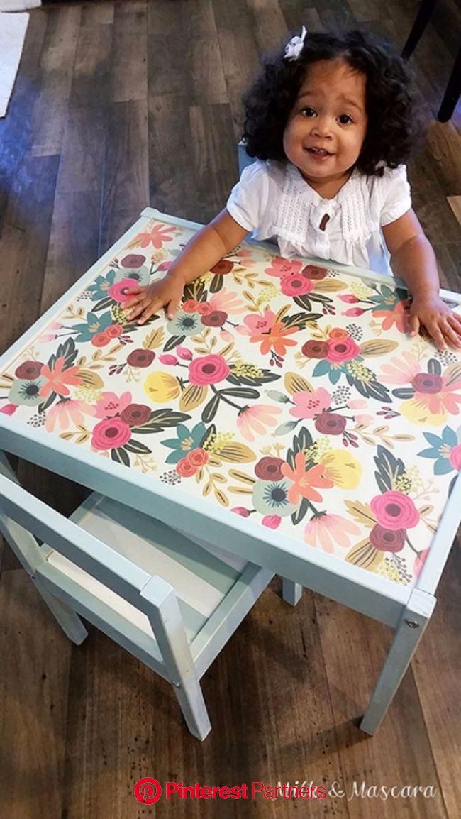31 DIY Playroom Decor and Organization   Childrens table, Ikea table hack, Ikea kids