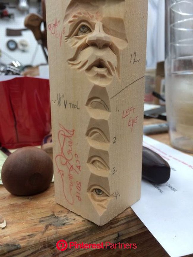 Carving a face study stick - DVD — Steve Brown Woodcarving | Wood carving faces, Wood carving designs, Wood carving art