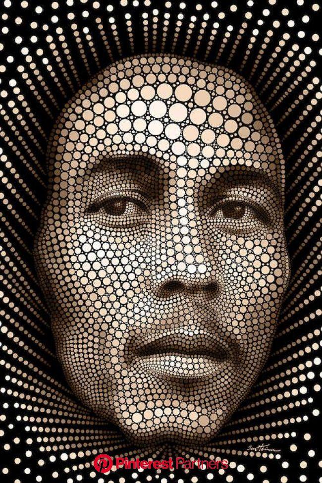 Bob Marley Art Print by Ben Heine | iCanvas in 2021 | Bob marley art, Circle art, Bob marley